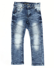 Boys - Stretch Moto Basic Jeans (4-7)-2332430