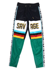 Activewear - Poly Tricot Multi Color Joggers (8-20)-2330509