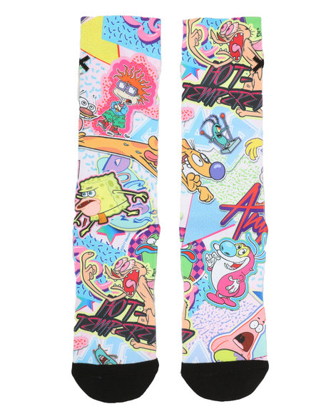 ODD SOX - Nick Stickers Crew Socks