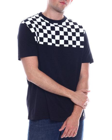 Buyers Picks - Checkerboard Shoulder tee