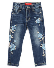 Girls - Stretch Embroidered Jeans (2T-4T)-2330529