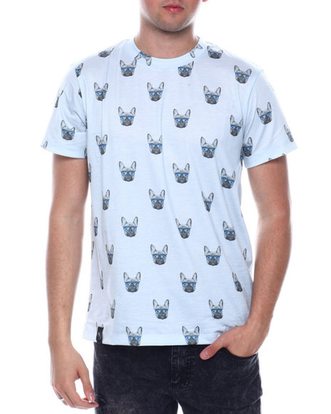 Buyers Picks - FRENCHIE ALL OVER PRINT TEE