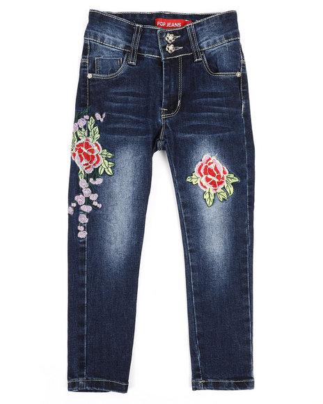 La Galleria - Stretch Embroidered Jeans (4-6X)