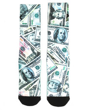 DRJ SOCK SHOP - Get Money Crew Socks-2333264