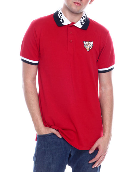 Buyers Picks - S/S Mens Tiger Logo Polo