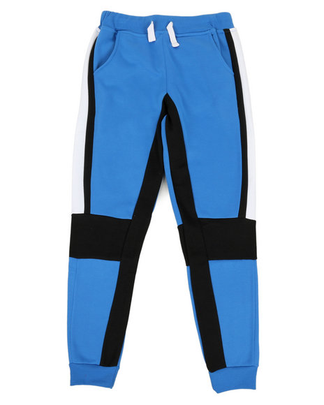 Arcade Styles - 2 Color Side Panel Fleece Joggers (8-20)