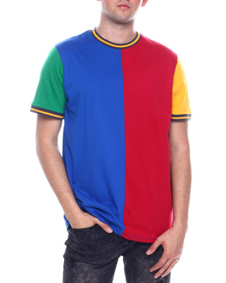 Buyers Picks - PRIMARY COLOR COLORBLOCK TEE