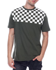 Buyers Picks - Checkerboard Shoulder tee-2334259