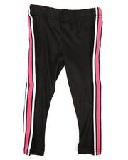 La Galleria - Solid Capri Leggings W/ Taping (2T-4T)-2332130