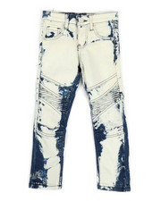 Boys - Stretch Moto Basic Jeans (4-7)-2332488