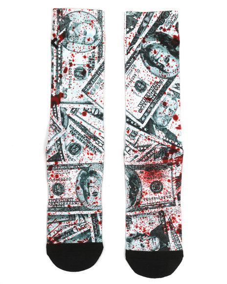 ODD SOX - Blood Money Crew Socks