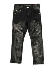 Boys - Stretch Moto Jeans (4-7)-2332477