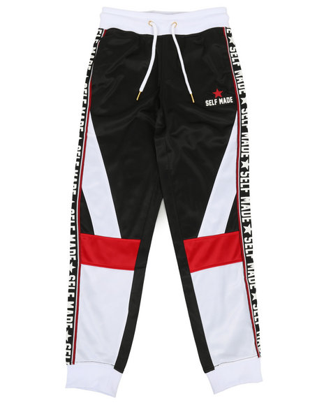 Arcade Styles - Poly Tricot Colorblock Joggers (8-20)