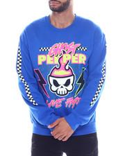 Sweatshirts & Sweaters - Live Fast Crewneck Sweatshirt-2334426