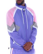 SMOKE RISE - Color block Nylon Jacket-2334719