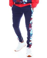Sweatpants - Rose Plaid Nylon Pant-2334878