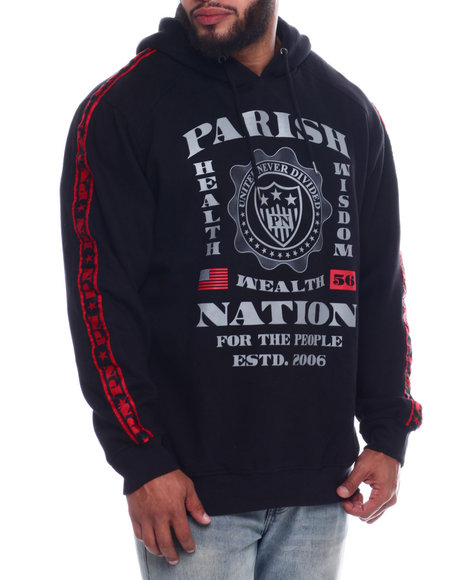 Parish - Men P/O Hoodie (B&T)