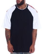 Akademiks - Outfield Taped Shoulder Raglan Tee (B&T)-2335461
