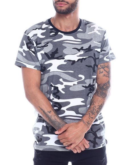 Buyers Picks - S/S Mens Hi/Low Camo T-shirt