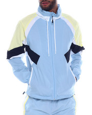 SMOKE RISE - Color block Nylon Jacket-2334702