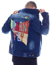 Denim Jackets - DURALEE DENIM JACKET-2334753