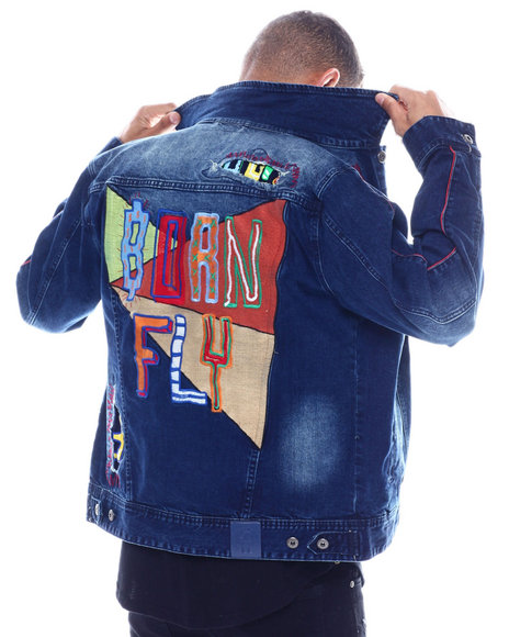 Born Fly - DURALEE DENIM JACKET