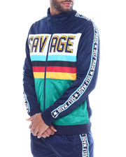 Track Jackets - Savage Color Block Track Jacket-2328243