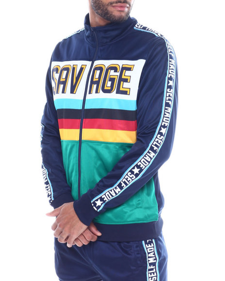 Buyers Picks - Savage Color Block Track Jacket
