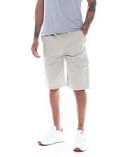 Shorts - SAFARI TWILL CARGO SHORT W KNIT WAIST-2334293