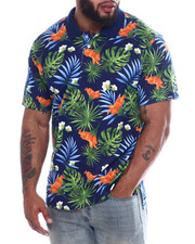 Shirts - HAWAIIN FLORAL POLO-2334972