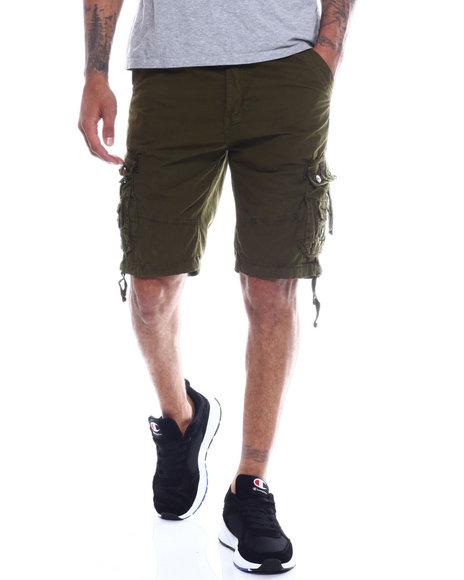 Buyers Picks - Mens Garment Dyed Snap Pocket Cargo Short