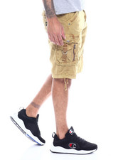 "Men - Mens Garment Dyed Zip & ""D"" Ring Cargo Short-2334264"