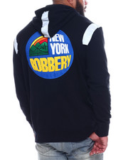 New York Robbery - Reflective tape Hoodie-2334394