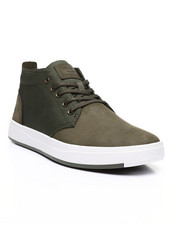 Davis Square Mixed-Media Chukka Shoes