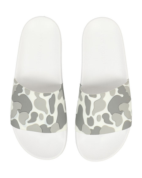 SNKR PROJECT - Bushwick Camo Slides