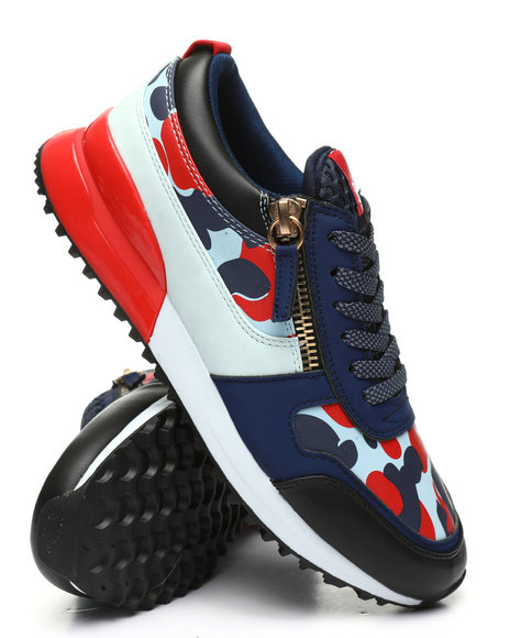 SNKR PROJECT - Rodeo Camo Low Cut Sneakers