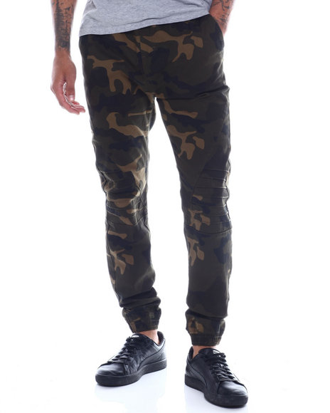 Buyers Picks - Camo Stretch Twill Jogger