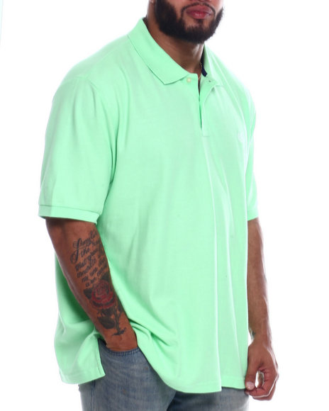 Chaps - Solid Pique Polo (B&T)
