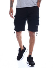 "Buyers Picks - Mens Garment Dyed Zip & ""D"" Ring Cargo Short-2334252"