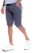Shorts - SAFARI TWILL CARGO SHORT W KNIT WAIST-2334578