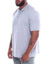 Men - Tip Collar S/S Knit Top (B&T)-2334956