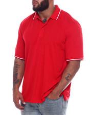 Men - Tip Collar S/S Knit Top (B&T)-2334934
