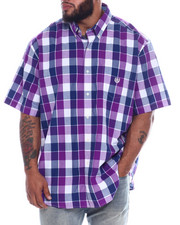 Shirts - Performance Easycare XL-L Graphic Check (B&T)-2332471