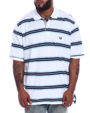 Chaps - Stripe Cotton Polo (B&T)-2332385