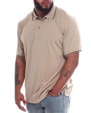 Men - Tip Collar S/S Knit Top (B&T)-2334952