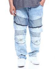Jeans & Pants - Moto W/Knee Treatment Jean  (B&T)-2335071