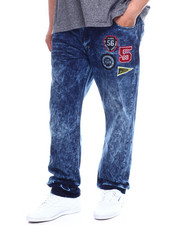 Parish - Mens Moto Denim Jean (B&T)-2335680
