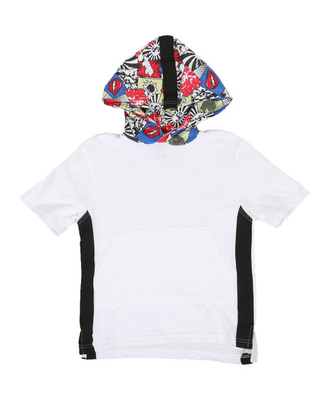NOTHIN' BUT NET - Slub Cotton Hoodie W/ Graphic Print (8-20)