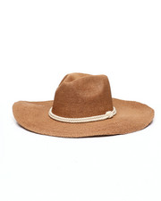 Fashion Lab - Botto Wide Brim Panama Hat-2335772