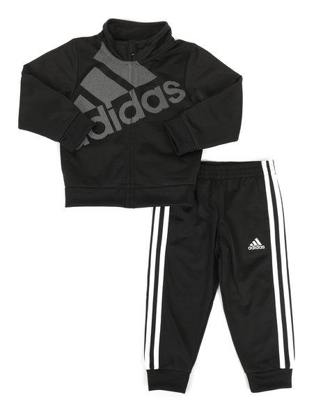 Adidas - Logo Tricot Jogger Set (2T-4T)